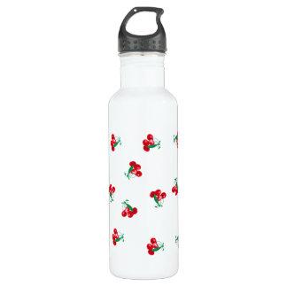 Cherries Water Bottle