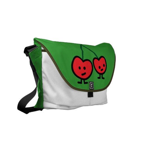 Cherries wild cherry friends couple red buddy commuter bag