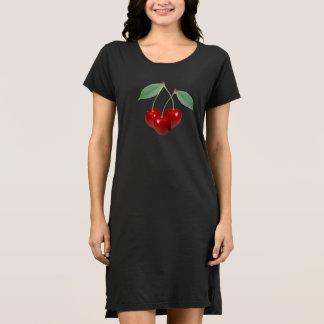 Cherries Women's T-Shirt Dress