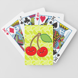 Cherry and Limes Poker Deck