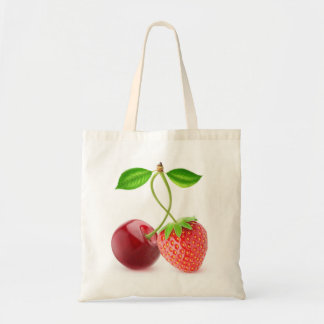 Cherry and strawberry together
