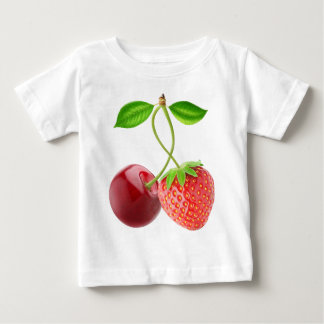 Cherry and strawberry together baby T-Shirt