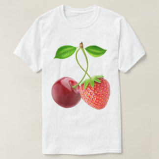 Cherry and strawberry together T-Shirt