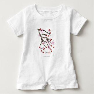 cherry blossom 10 Tony Fernandes Baby Romper
