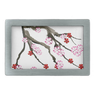 cherry blossom 10 Tony Fernandes Belt Buckle