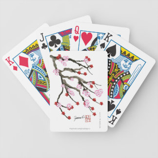 cherry blossom 10 Tony Fernandes Bicycle Playing Cards