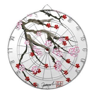 cherry blossom 10 Tony Fernandes Dartboard