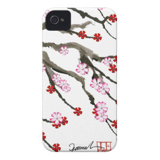 cherry blossom 10 Tony Fernandes iPhone 4 Case-Mate Case