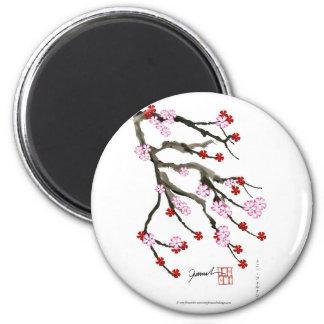 cherry blossom 10 Tony Fernandes Magnet