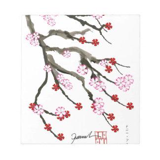 cherry blossom 10 Tony Fernandes Notepad