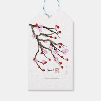 cherry blossom 10 Tony Fernandes Pack Of Gift Tags