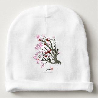 cherry blossom 11 Tony Fernandes Baby Beanie