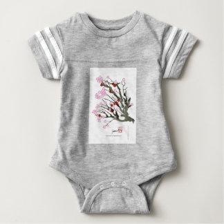 cherry blossom 11 Tony Fernandes Baby Bodysuit