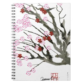 cherry blossom 11 Tony Fernandes Notebooks