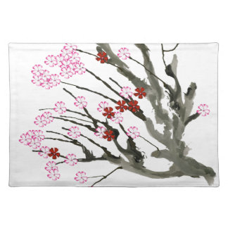 cherry blossom 11 Tony Fernandes Placemat