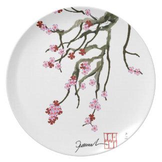 cherry blossom 12 Tony Fernandes Dinner Plate