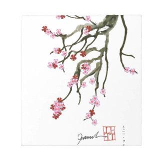 cherry blossom 12 Tony Fernandes Notepad