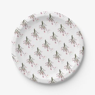 cherry blossom 12 Tony Fernandes Paper Plate