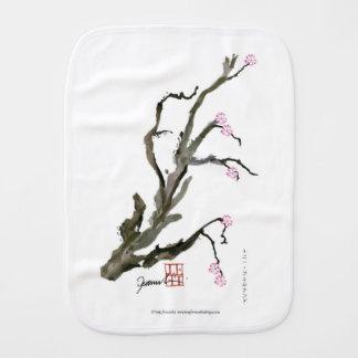 Cherry Blossom 15 Tony Fernandes Burp Cloth