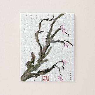 Cherry Blossom 15 Tony Fernandes Jigsaw Puzzle