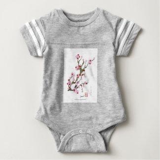 Cherry Blossom 16 Tony Fernandes Baby Bodysuit