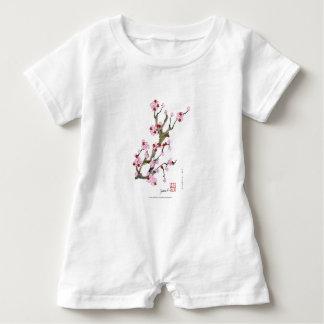 Cherry Blossom 16 Tony Fernandes Baby Romper