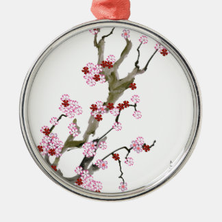 Cherry Blossom 16 Tony Fernandes Metal Ornament