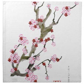 Cherry Blossom 16 Tony Fernandes Napkin