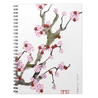 Cherry Blossom 16 Tony Fernandes Notebooks