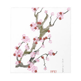 Cherry Blossom 16 Tony Fernandes Notepad