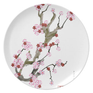 Cherry Blossom 16 Tony Fernandes Plate
