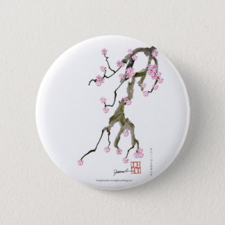 Cherry Blossom 17 Tony Fernandes 2 Inch Round Button