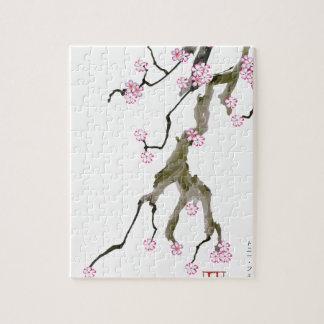 Cherry Blossom 17 Tony Fernandes Jigsaw Puzzle