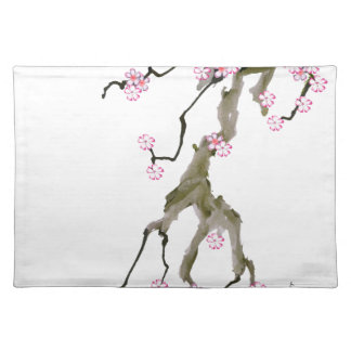 Cherry Blossom 17 Tony Fernandes Placemat