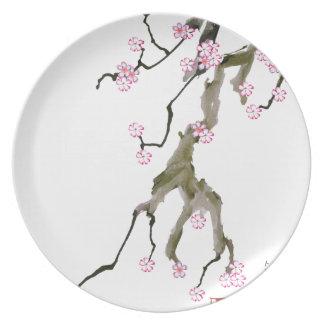Cherry Blossom 17 Tony Fernandes Plate