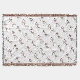 Cherry Blossom 17 Tony Fernandes Throw Blanket