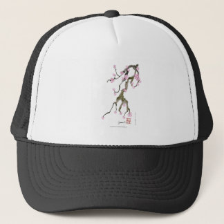 Cherry Blossom 17 Tony Fernandes Trucker Hat
