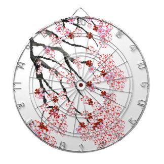 Cherry Blossom 18 Tony Fernandes Dartboard