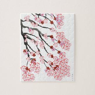 Cherry Blossom 18 Tony Fernandes Jigsaw Puzzle