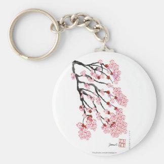 Cherry Blossom 18 Tony Fernandes Keychain