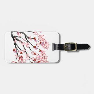 Cherry Blossom 18 Tony Fernandes Luggage Tag
