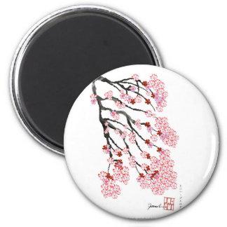 Cherry Blossom 18 Tony Fernandes Magnet