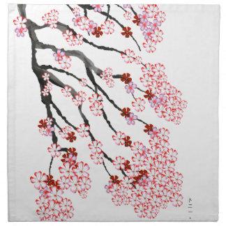 Cherry Blossom 18 Tony Fernandes Napkin