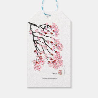 Cherry Blossom 18 Tony Fernandes Pack Of Gift Tags