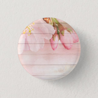 Cherry Blossom 1 Inch Round Button