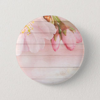 Cherry Blossom 2 Inch Round Button