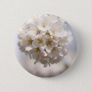 Cherry Blossom 2 Inch Round Button
