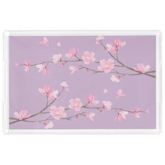 Cherry Blossom Acrylic Tray