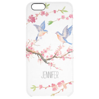 Cherry Blossom and Bird iPhone 6/6s Case