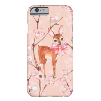 Cherry blossom and fawns /2 barely there iPhone 6 case